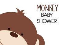 Monkey Baby Showers / Monkey Baby Showers