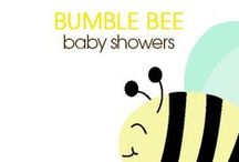 Bumble Bee Baby Showers / Bumble Bee Baby Showers, Bee Invitations, Neutral Bee Baby Shower, Boy Bee Baby shower, Girl Bee Baby shower