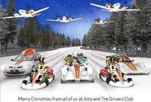 Felicitaciones de Navidad / Xmas cards / Felicitaciones de Navidad personalizadas para nuestros clientes del mundo del motor / Customized Xmas cards for our racing clients