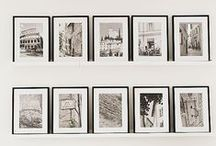 //gallery walls// / by Kate Morawetz