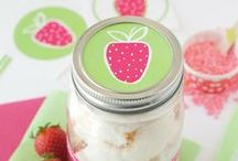 Strawberry Party / Inspiration for a Strawberry Party or a Strawberry Shortcake Party!