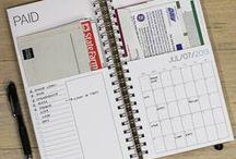 Visual Documention / planner, journal, sketchbook
