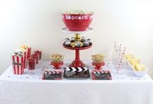 Movie Night Party / Decorations and Food for a Movie Night themed party!