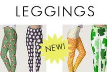 Leggings / In September 2016, Zazzle partnered with a company and now sells Leggings. I have been designing some that I think are really cute and fun to wear. This board is my collection of leggings available to purchase. These are hand-sewn in Canada. They won't lose their shape. You can learn more about the fabric and material by clicking on any one of the leggings and going to the product page. Thanks for checking out my legging designs by Art by Jess!