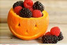 Halloween / Heathy food ideas to celebrate Halloween