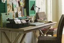 workspace ideas. / by Becky Bercik-Jones