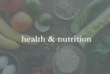 health & nutrition / tips, infographics & charts