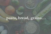pasta, bread, grains... / pasta, bread, grains, quinoa