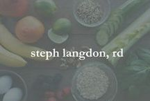 steph langdon, rd / all about me as a dietitian & athlete
