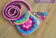 Crochet Purses & Totes / by Tammy Drouillard-Jozwiak