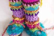Crochet Footwear / by Tammy Drouillard-Jozwiak