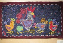 Modern Rug Hooking / by Tammy Drouillard-Jozwiak