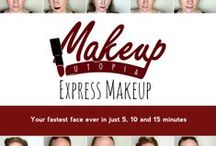Express Makeup. The e-Book. / All the looks featured in the Makeup Utopia: Express Makeup e-Book.