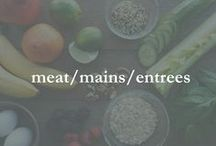 meat/mains/entrees / beef, chicken, pork, turkey, lamb, main course, entree dishes