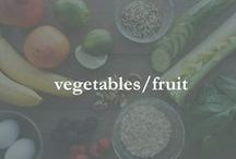 vegetables/fruit / veggies, fruit, side dishes and more