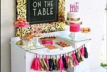 party! » pink, black & gold