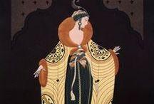 JT // Erté / Illustrations by Erté - talented 20th-century artist and designer,