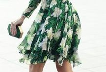 Floral Street Style Inspiration / Shop the trend online at David Jones: http://bit.ly/1H1fCuZ