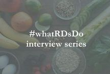 #whatRDsDo interview series / Find out what Registered Dietitians (RDs) around the world do for a living.
