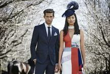 Melbourne Cup 2015 / Pops of colour and ladylike prints for Melbourne Cup : http://bit.ly/1YL3uEZ