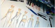 J'AMY TARR // The Girls / J'Amy Tarr illustrates 'The Girls', a fashion art illustration, on her blog every Friday: http://jamytarr.com/blogs/sketchbook