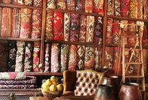"Magic Carpets of the Orient / ""A house without a rug is a body without a soul."" ~ popular Persian saying... / by T Almon"