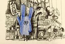 Art | Notebooks, scketches