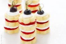Red, White & Blue / Red, White and Blue. Perfectly Patriotic.  American and British.  4th of July or the Queen's birthday!