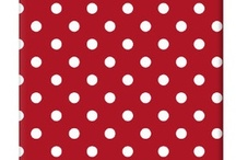 COLOURS  |  Red  |  Polka dots