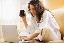 Working from Home / The pros and cons of working from home.