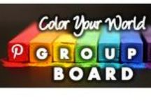 """Color Your World / A collection of colorful stuffs and printable items To join group (1) Follow the board (2) comment on any of my pins- """"ADD ME"""" (3) Edit your board then Add us [ compandsave ] then Save. PLEASE NO SPAM OR NUDITY OR YOU WILL BE DELETED OR BLOCKED!"""