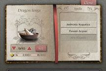 UI Design | Games and fiction