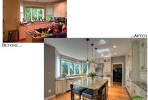 Moss-Before and After Remodels / Before and After pictures of Moss home remodels  / by Moss Building & Design