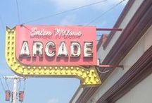 CARNIVAL ARCADE - Salem Willows, MA / Arcade Games