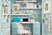 cozy {homeoffices & craft rooms}