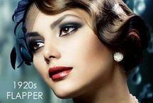 Gatsby Themed Hair + Makeup
