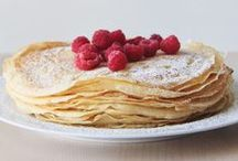 Delicious - Pancakes & Crêpes / Pancakes, crêpes, blinis and galettes. Not just for Shrove Tuesday or Mardi Gras!