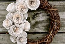 Making - A Wreath for All Seasons / A wreath is not just for Christmas  / by Helen Best-Shaw