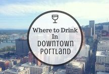 Portland Picks / A local's guide to Portland, Oregon. Favorite places including bars, restaurants, lounges and things to do in Downtown Portland.   http://everydayrunaway.com/