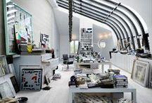 Studio / design research for my dream studio interior