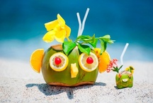 It's always happy hour when you're on vacation / Vacations are a great time to kick back and relax.  What's better than laying on the beach with a drink in your hand or enjoying your evening with a cocktail.  It's always happy hour when you're on vacation! / by My Vacation Lady Mindy Gilbert