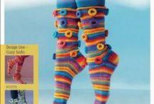 Socks and Kilt Hose/Knit or Crochet