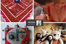 Artizan Made / Visit our Artizan Made shops! www.artizanmade.com / by Rayela Art