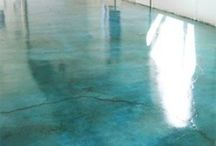 Polished Concrete / by Marla Grundhoefer
