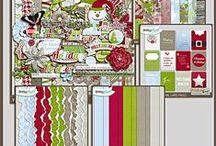 {Winter Joy} Digital Scrapbook Collection by Pixelily Designs