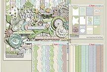 {Love Song} Digital Scrapbook Kit by Pixelily Designs