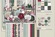 {At First} Digital Scrapbook Kit by Pixelily Designs