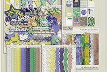 {Time to Bath} Digital Scrapbook Kit by Pixelily Designs