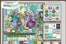 {Spring Blooming} Digital Scrapbook Collection by Pixelily Designs