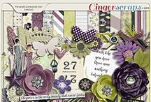 {Classic Lady} Digital Scrapbook Collection by Pixelily Designs